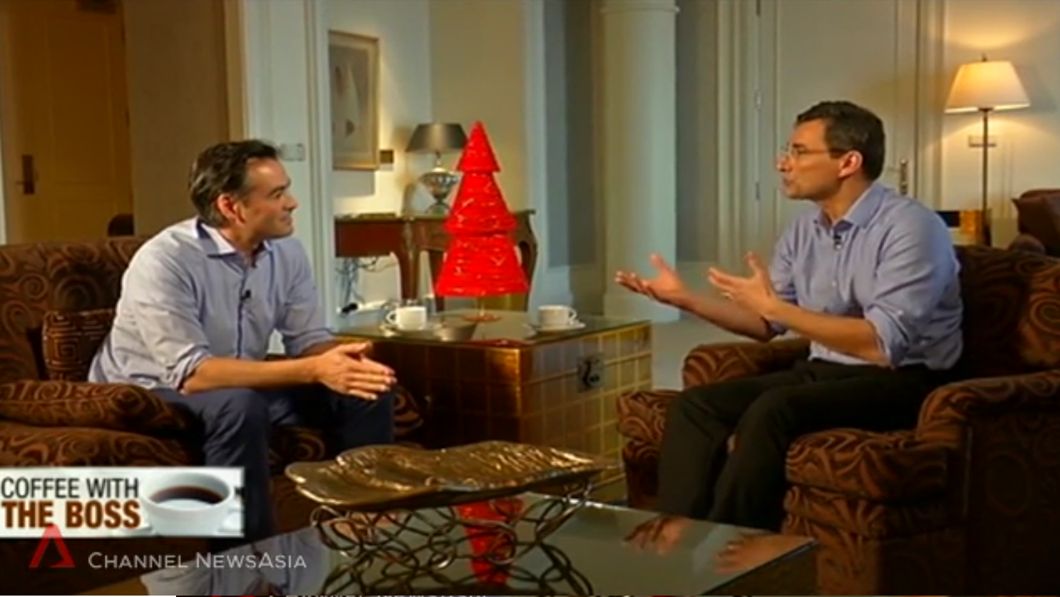 Enrique Cuan, Founder of Pratthanadee, Interviewed on Channel NewsAsia