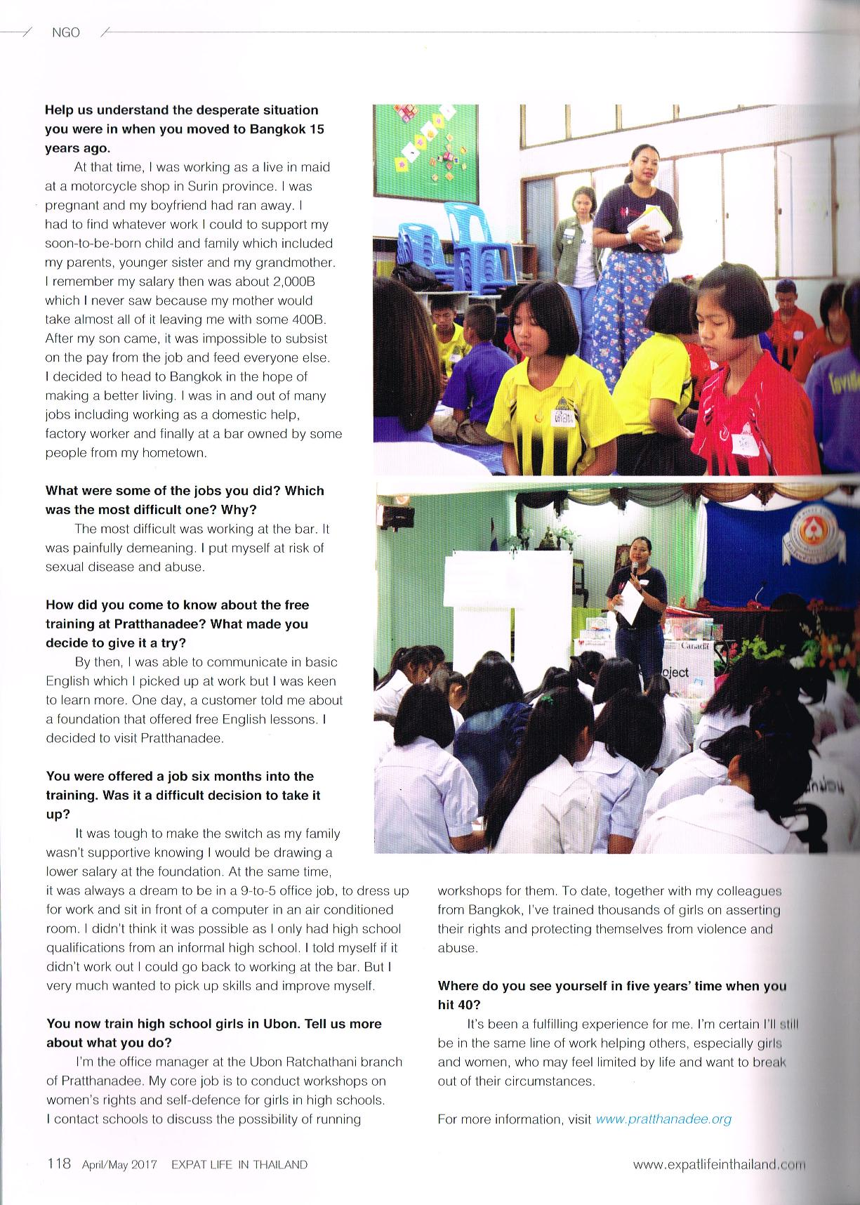"""Article: """"The Road to a Better Me"""" for Expat Life in Thailand"""